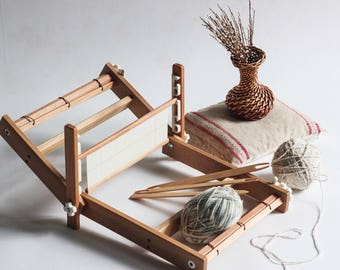 Weaving loom. Table loom. Weaving loom kit. Working section - 40 cm