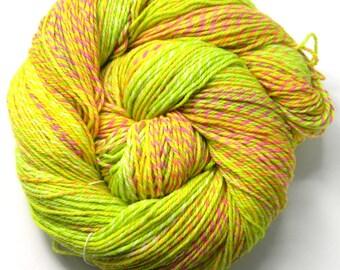 Sherbet - Sock Fingering - SW Merino Nylon Hand Dyed Yarn