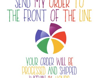 Add On - Rush My Order, Prioritize My Order, Put My Order At The Top! ONLY FOR DECALS