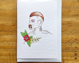 20's Boxer Vintage Greeting Card
