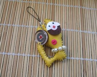 Doll cat sky 8 cm