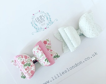 Set of 2 cute bows