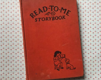 free domestic shipping--Read-To-Me Storybook 1947