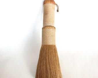 Vintage Handmade Artisan Whisk Broom - Vanity Broom or Clothes Brush