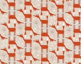 Timeless Treasures Fabric, Forest Frolic, Foxes on Stone