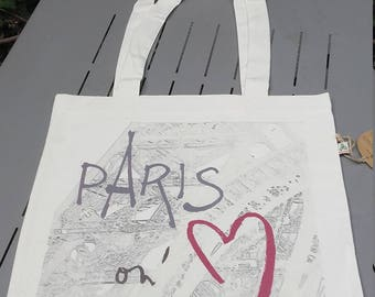 "Tote Bag ""Paris on'M®"", Eiffel tower"