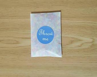 Biodegradable confetti  12 biodegradable confetti packets.  Eco confetti natural and eco friendly
