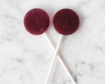 Blueberry Lollipops (50)