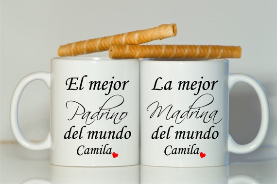 Padrino Madrina Mugs Godmother Gift Godfather Gift