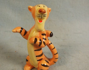 Vintage-Walt Disney-Winnie The Poohs Friend-Tigger-Ceramic--Nol Box