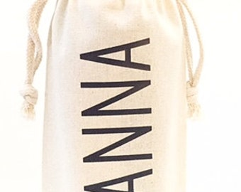 Bridesmad wine bag - Name wine bag - Bridesmaid Wine - Be my bridesmaid