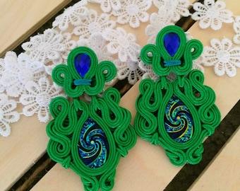 Evergreen Forest Earrings