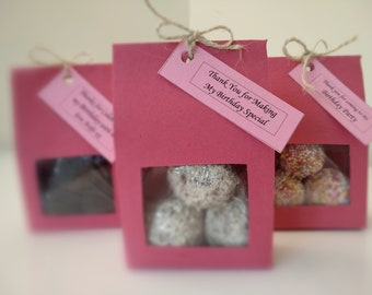 10 Chocolate Truffles Party Favours