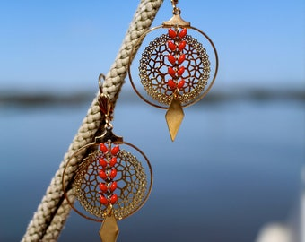 Chic and Bohemian earrings