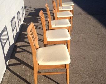 SALE Mid-Century Danish Dining Chairs Set of 6