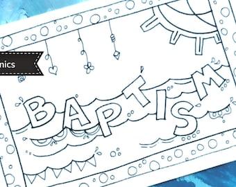Doodle a Baptism