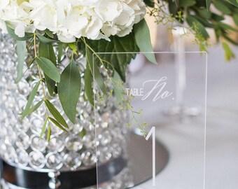 Acrylic Table Number,Wedding Decor,Party Decor,Perfect Weddings,Gold Wedding Decor,Table Numbers,Acrylic Wedding Signs,Custom Decor, 1 ct