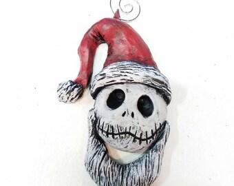 Santa Jack ornament nightmare before christmas