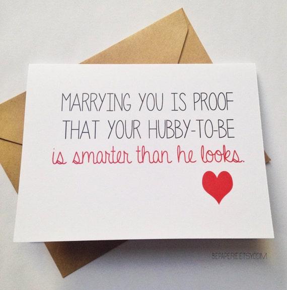 Congratulations Quotes Wedding: Funny Wedding Congratulations Card / Engagement Card / Funny