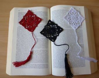Handmade Crochet Bookmark 'Kite' READY TO SHIP
