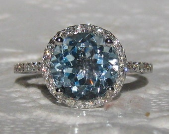 gold diamonds aquamarine ring in white engagement rings aqua with