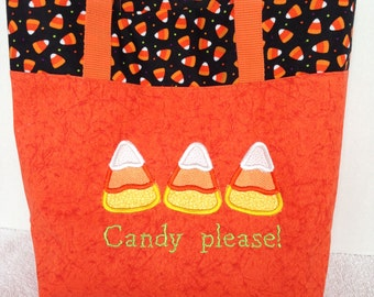 Halloween Tote-Candy Please