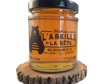 Honey with autumn wildflowers, 100% natural, handcrafted, non-pasteurisé