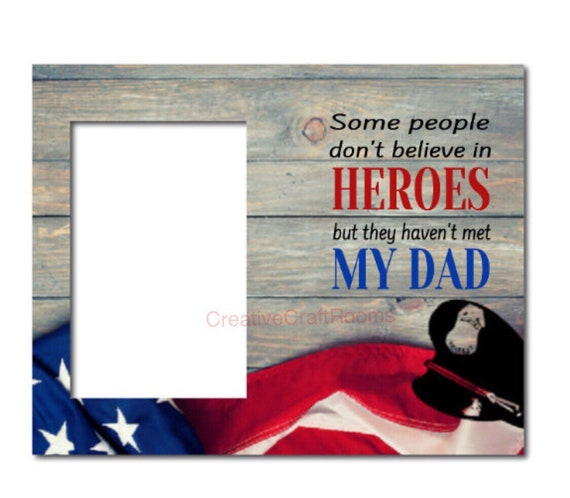 Police Gift, Some people don't believe in Heroes but they haven't met my dad Frame, Mom, Police Officer Frame, Law Enforcement, Police woman