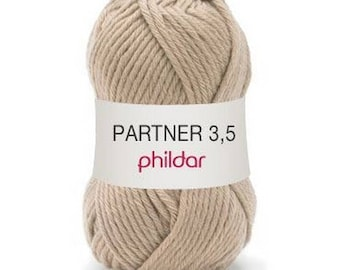 "wool partner 3.5 ""Garance"" camel color"