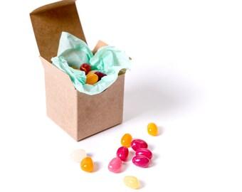 10 Kraft Gift Boxes 2x2x2| Gift Box| Small Gift Box| Kraft Box| Wedding Favor Box| Favor Box| Jewelry Box| Kraft Boxes| Kraft Gift Box