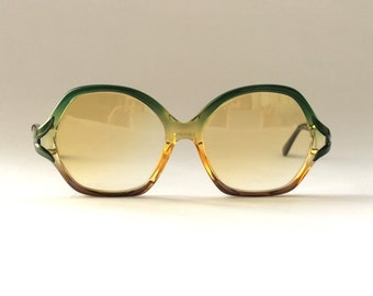 70s Vintage German Rodenstock CELINETTE Small Semi Square NOS Sunglasses