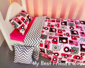 Picture Perfect  - 18 inch Doll Bedding