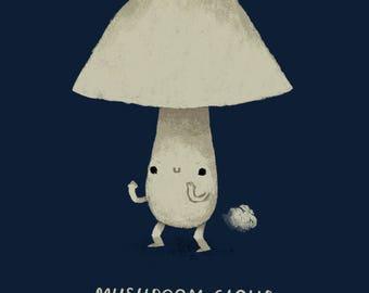 Mushroom Cloud! T Shirt / Cute, Funny Mushroom Shirt/ Mushroom Puns /