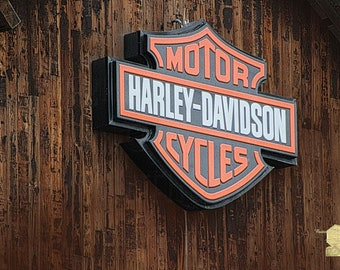 Harley Davidson Sign in West Jordan Utah Photograph Photography by Colleen Cornelius Bring the Outdoors In Zen Home Decor