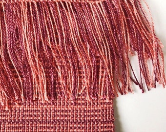 Handwoven Scarf // Tencel Weaving // Sustainable Slow Fashion // Gifts for Her