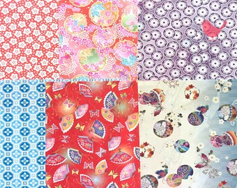 Japanese rice and origami paper ephemera (22 pieces(