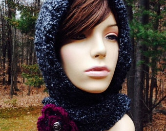 Hooded Scarf/Hat
