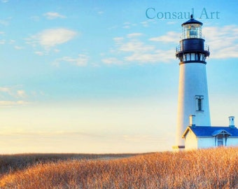 Lighthouse on a Bluff
