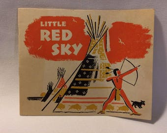 1948 Little Red Sky Book