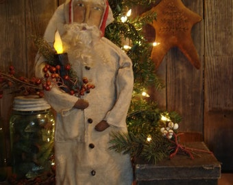 Candlelight Santa