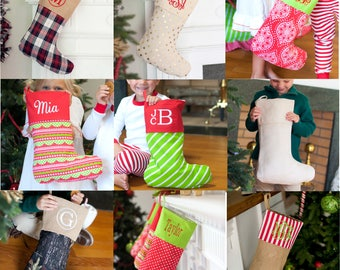 Final Inventory*** FREE PERSONALIZATION, Christmas Stockings, Personalized Stockings, Monogrammed Stockings