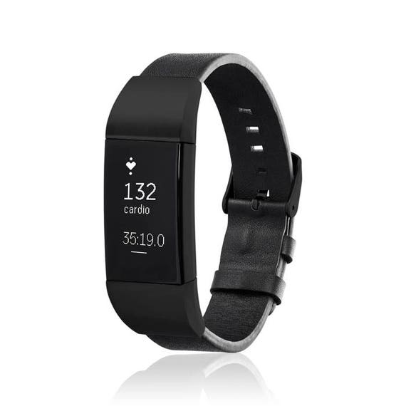 Charge 2 Jewelry - Bracelet  GLEN - Black - for Fitbit Charge 2