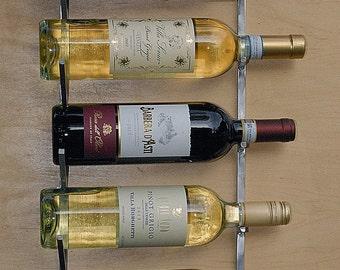 Wine Rack, Modern, Minimal, Sleek , Stainless Steel, Industrial Design