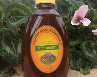 2 lb. raw wildflower honey