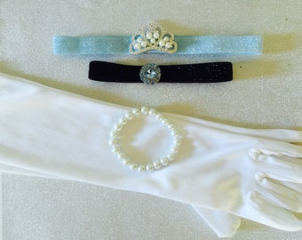 Cinderella inspired Accesssory Set         Available in ages 6 months- adult