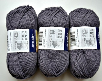 Wool Yarn Purple 50gr 1.75oz skein, each skein contains approximately 95m 104 yds