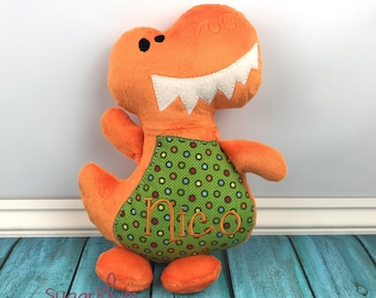 Personalized Stuffed Dinosaur