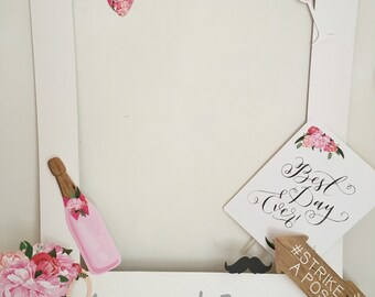 Personalised Polaroid Photo Booth With Your Choice Of Props