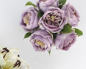 Luxury Purple Rose Flower Arrangement