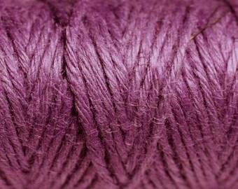 3 meters - 1.5 mm purple hemp twine cord - 4558550083692